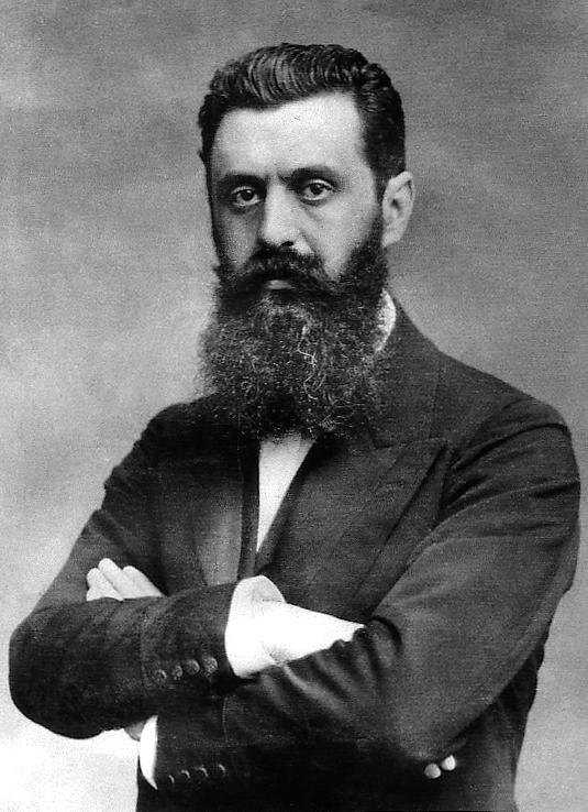 Theodor Herzl - photo by israelvets.com