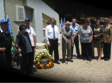 Dan Shapiro Speaks at Machal Memorial